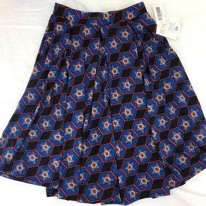 Lularoe Madison Skirt Size XS New